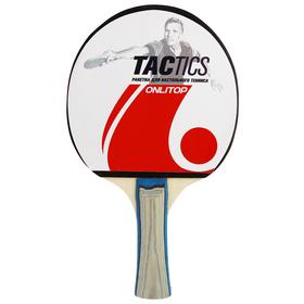 Ракетка для настольного тенниса TACTICS, в чехле Ош