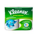 Полотенца бумажные Kleenex Ultra Absorb, 56 листов, 2 рулона