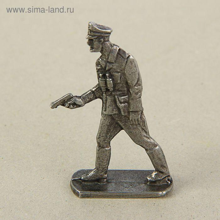 """Оловянный солдатик """"Немецкий офицер"""""""