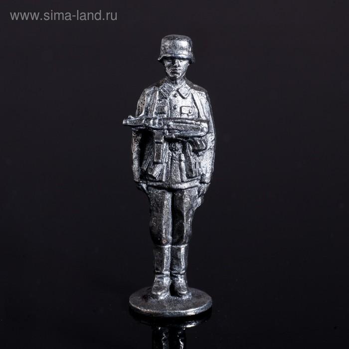 """Оловянный солдатик """"Немецкий пехотинец"""""""