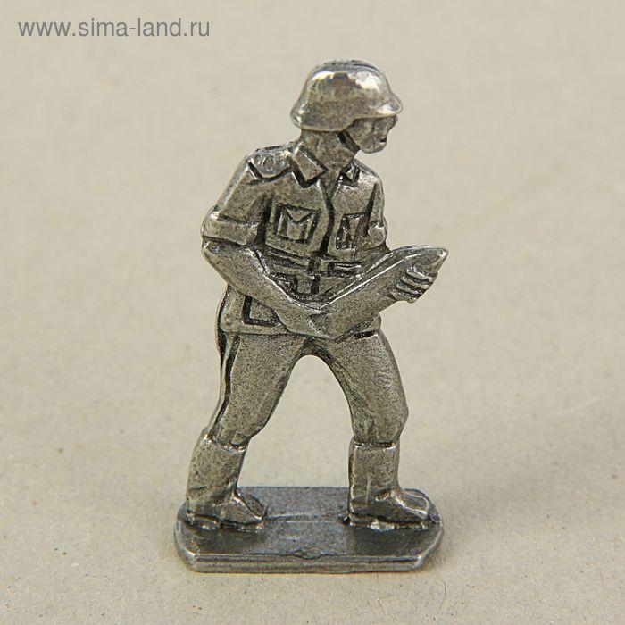 """Оловянный солдатик """"Немецкий снарядный"""""""