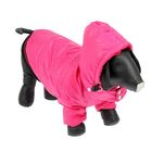 Куртка супертеплая на синтепоне, размер S (ДС 27 см, ОГ 49 см), розовая