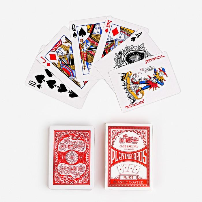 Карты игральные бумажные Tiema 979, 54 шт., 8,6 × 6,0 см, микс
