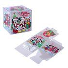 """Коробка подарочная """"Веселого праздника!"""" Микки Маус и друзья,15 х15 х15 см"""
