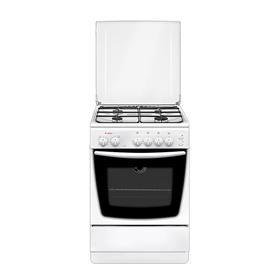 Плита Gefest 1200-С5, газовая, 4 конфорки, 63 л, газовая духовка, белая