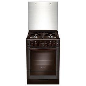 Плита Gefest 6300-02 0047, газовая, 4 конфорки, 52 л, газовая духовка, коричневая