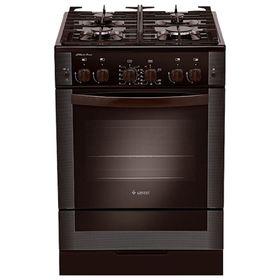 Плита газовая Gefest 6500-02 0045, 4 конфорки, 52 л, газовая духовка, коричневая