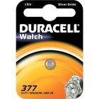"Батарейка серебряно-цинковая DURACELL ""Для часов"" 1.5V 377, 1 шт."