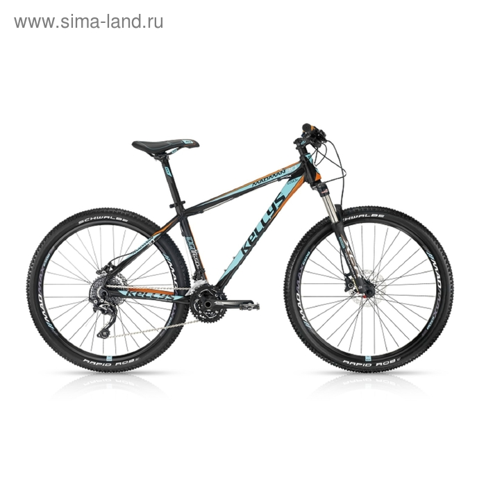 """Велосипед 27,5"""" Kellys Madman 30, 2016, цвет черный, размер 21"""""""