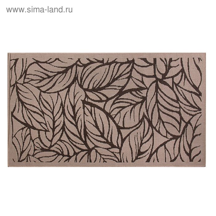 Циновка Flat 11 Шоколад sz2233c2, размер 120х170 см, ворс 100% ПП