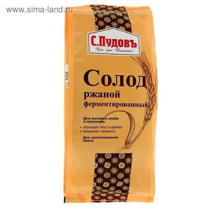 Солод ржаной ферментированный 300 гр. С.Пудовъ