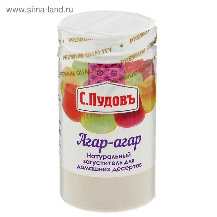 Агар-агар пл/б, 40 гр. С.Пудовъ