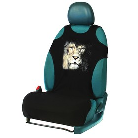 """Чехол-майка """"Лев"""", на переднее сиденье, хлопок"""