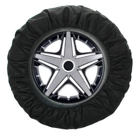 Чехлы для хранения колес универсальные R13-17, набор 4 шт