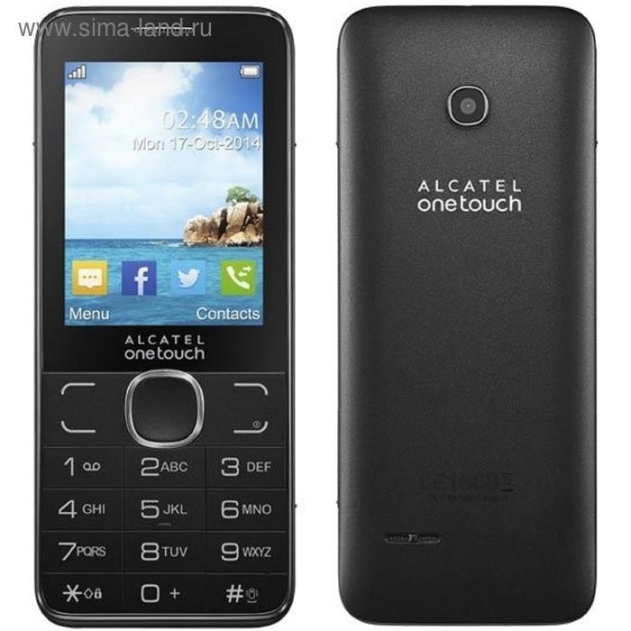 Мобильный телефон Alcatel 2007D, серый
