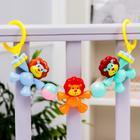 Растяжка на коляску/кроватку «Львята», 3 игрушки, цвет МИКС - фото 105523996