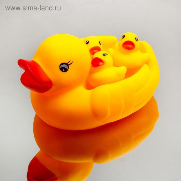 """Набор игрушек для купания """"Утки"""", 4 шт."""