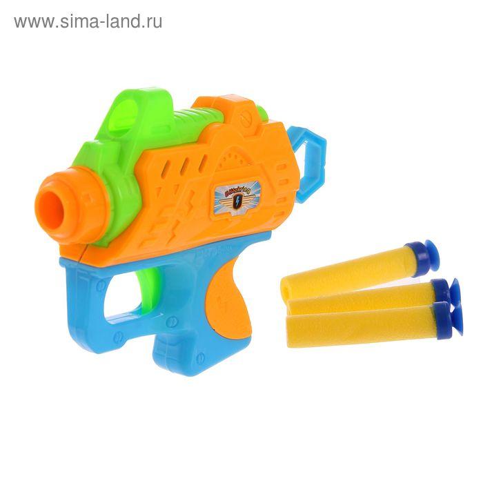 """Пистолет """"Бластер"""", стреляет мягкими пулями, МИКС"""