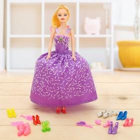 Кукла модель «Анюта» с аксессуарами, МИКС