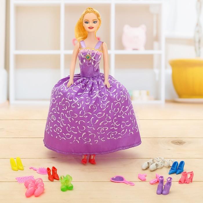 Кукла модель «Анюта», с аксессуарами, МИКС