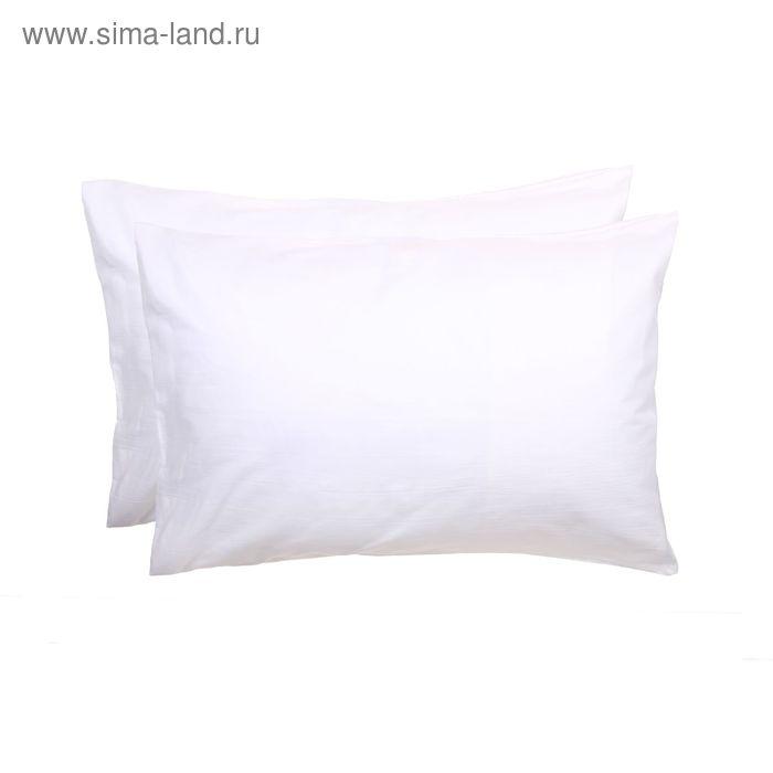 Наволочка КАРО-2 шт., размер 70х70 см, поплин отбелённый 110 г/м2