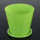 Pot for orchids 800 ml, color pistachio