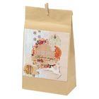 Пакет подарочный без ручек с декором «Пряности и радости», 16 × 28 см