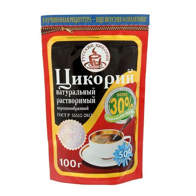 "Цикорий ""Русский цикорий"" растворимый ЗИП, 100 г"