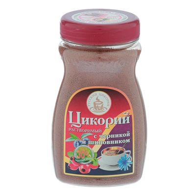 """Цикорий """"Русский цикорий"""" растворимый с черникой и шиповником, 100 г"""