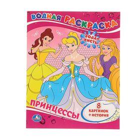 Водная раскраска «Принцессы»