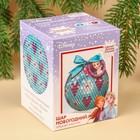 Новогодний ёлочный шар для декорирования, Холодное сердце