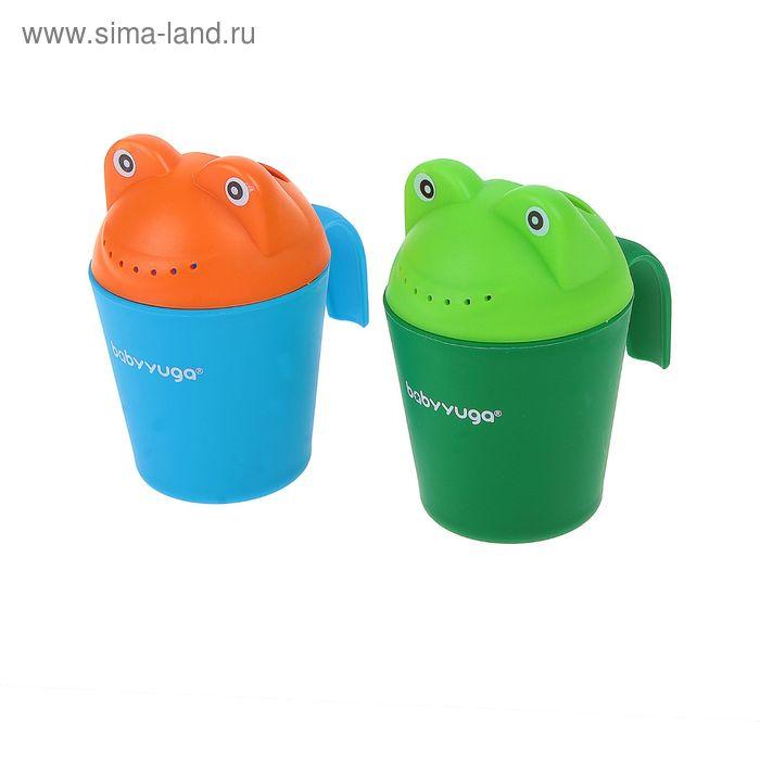 Игрушка для ванной «Лягушонок-лейка», цвета МИКС