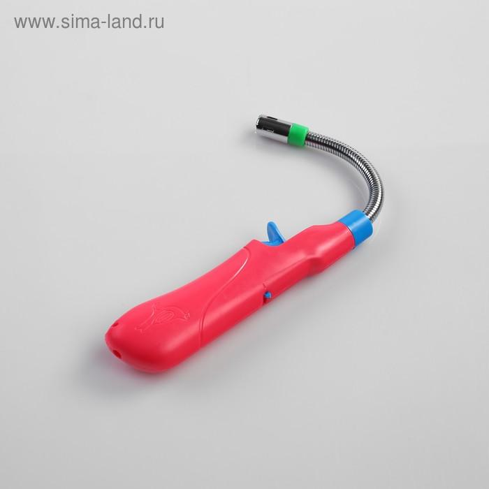 Зажигалка для газовой плиты, не заправлена, газ, 24 см, гибкая, микс