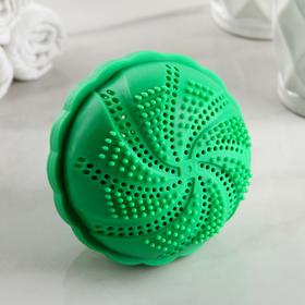 Турмалиновый шар для стирки белья 10×10×8 см