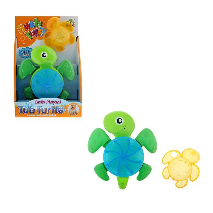 Игрушки для купания «Черепашка», цвета МИКС, на присоске