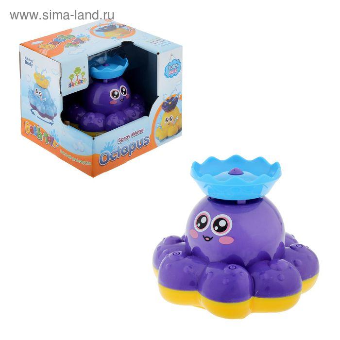 Игрушка для ванной «Осьминожка», цвета МИКС