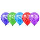 """Набор воздушных шаров """"С Новым Годом"""", снеговик, 5 шт. 10"""""""
