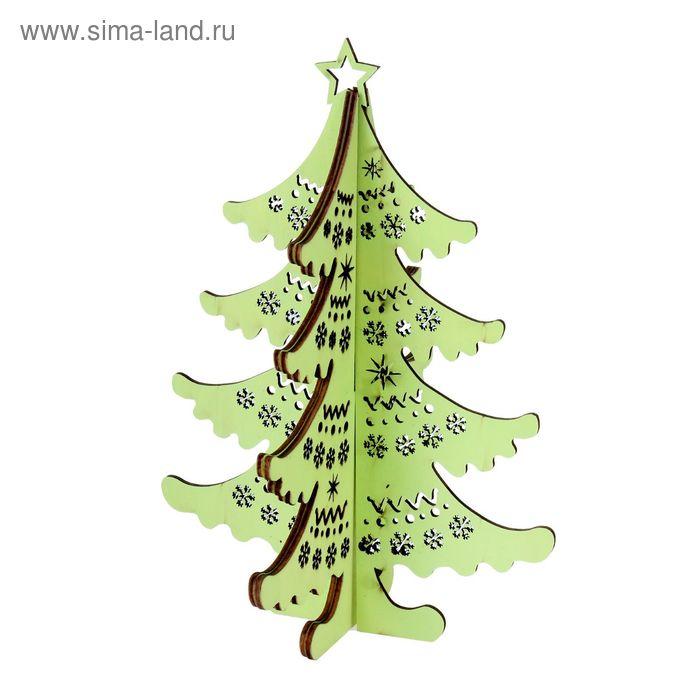 """Декор новогодний """" Елочка"""", цвет зеленый"""