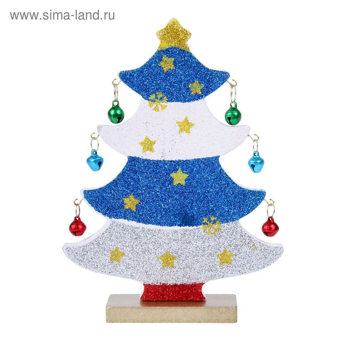 """Сувенир новогодний на подставке """"Волшебная ёлочка"""""""