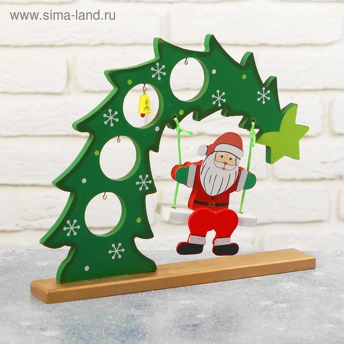 """Сувенир новогодний на подставке """"Новогоднее веселье"""""""