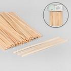 Шпатель для воска, деревянный