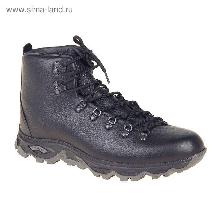 Ботинки TREK Викинг 81-01 мех (черный) (р.45)