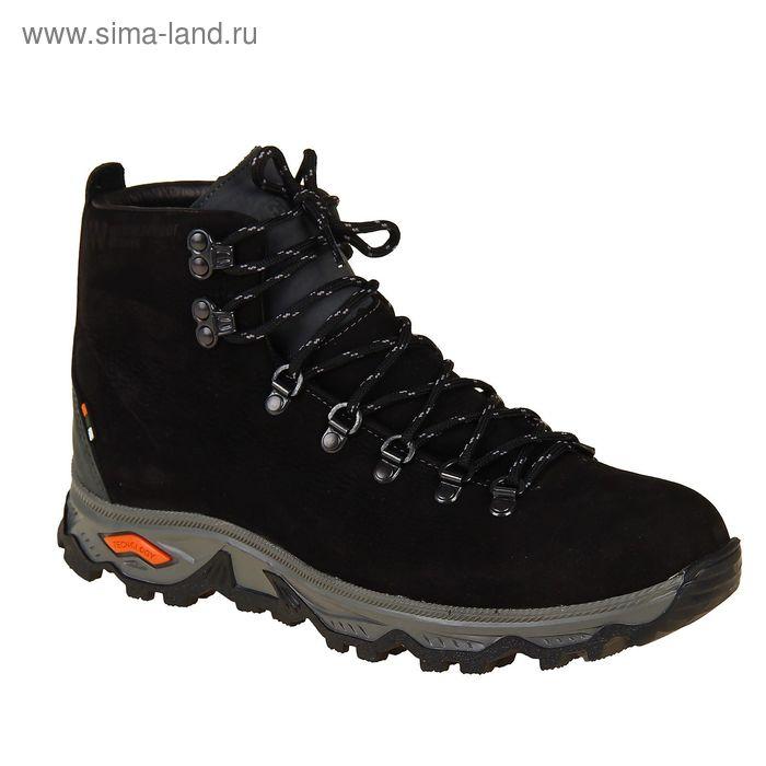 Ботинки TREK Викинг 81-46 мех (нубук черный) (р.42)