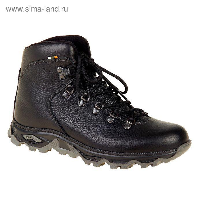 Ботинки TREK Хайкинг 36-01 капровелюр (черный) (р.44)