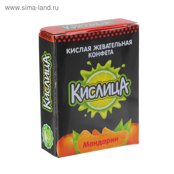 """Жевательная конфета """"Кислица-мини"""" фруктовое ассорти, 10 г"""