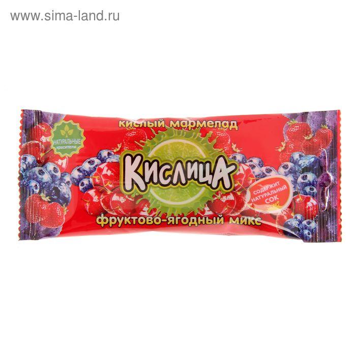 """Мармелад """"Кислица"""" кислый, фруктово-ягодный микс, 21 г"""