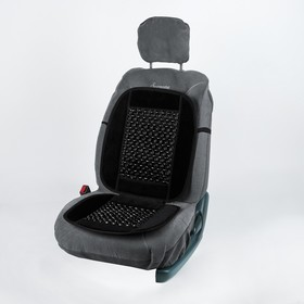 Cape massager on the seat Autovirazh AV-010022, black.