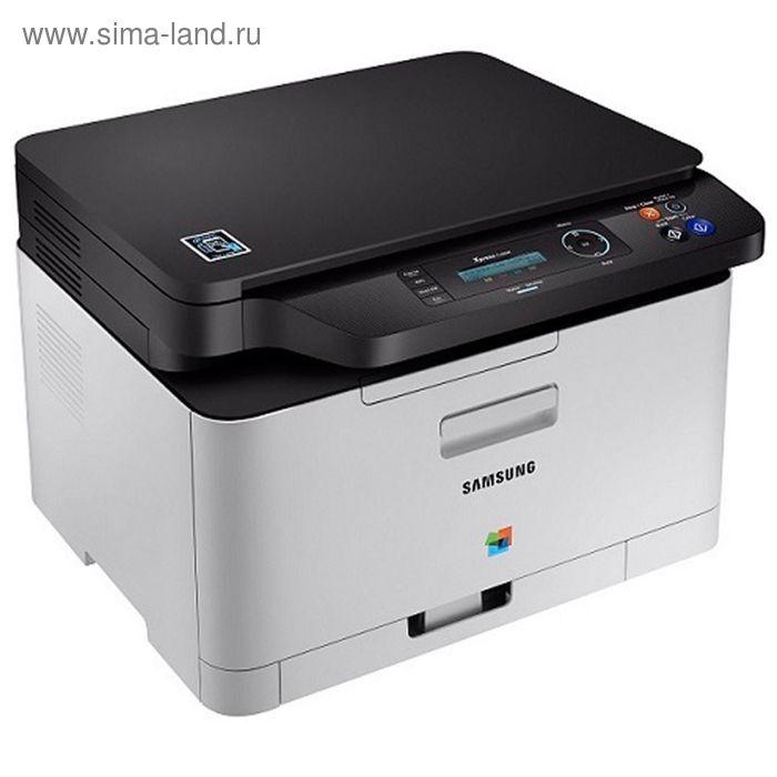 МФУ, лазерная цветная печать Samsung SL-C480, А4
