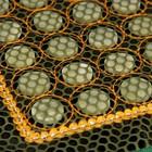 Коврик массажный с нефритовыми камнями прямоугольный с сеткой - фото 7356103