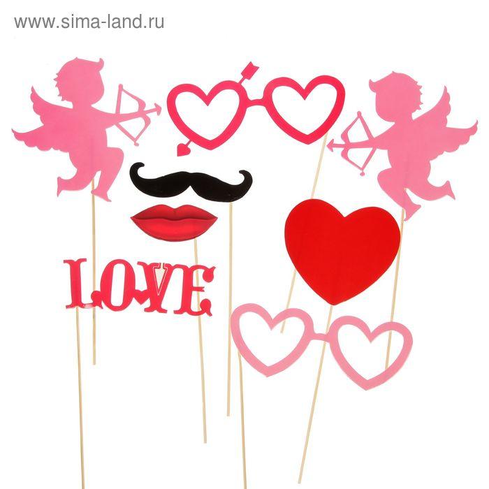 """Набор фотобутафории """"Love is"""""""